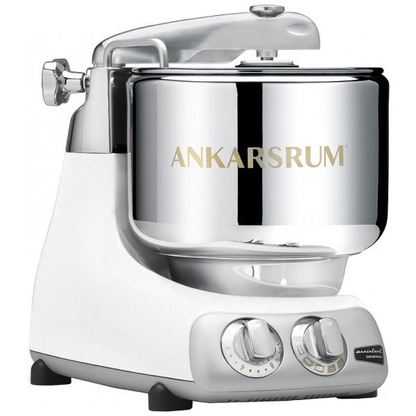 Ankarsrum Köksmaskin Assistent Original + Kokbok Mineral White från Ankarsrum