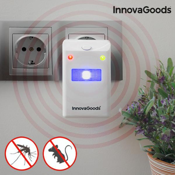 Avsckräckare Mot Insekter Och Gnagare Med Led Innovagoods Home Pest från Inget märke