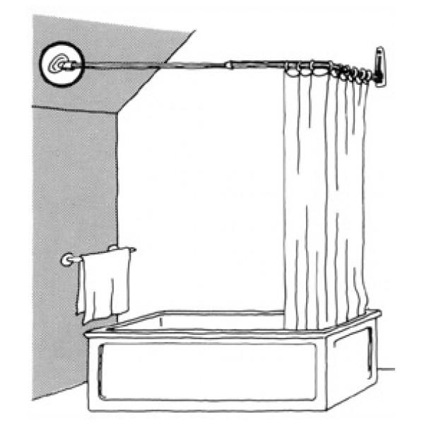 Badrumsprodukt Kulledsfäste För från Inget märke