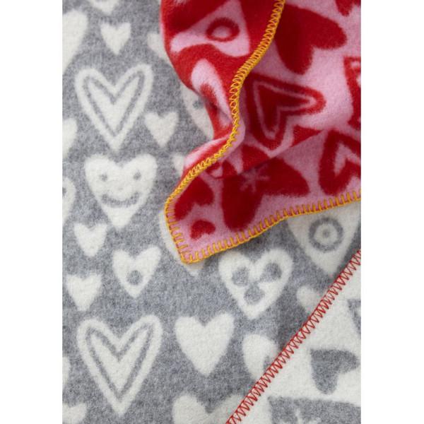 Barnfilt Baby Heart Babyfilt Klippan Yllefabrik från Inget märke