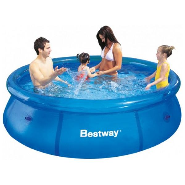Bestway Fast Set Pool 366 X 76 Cm Utan Pump från Bestway
