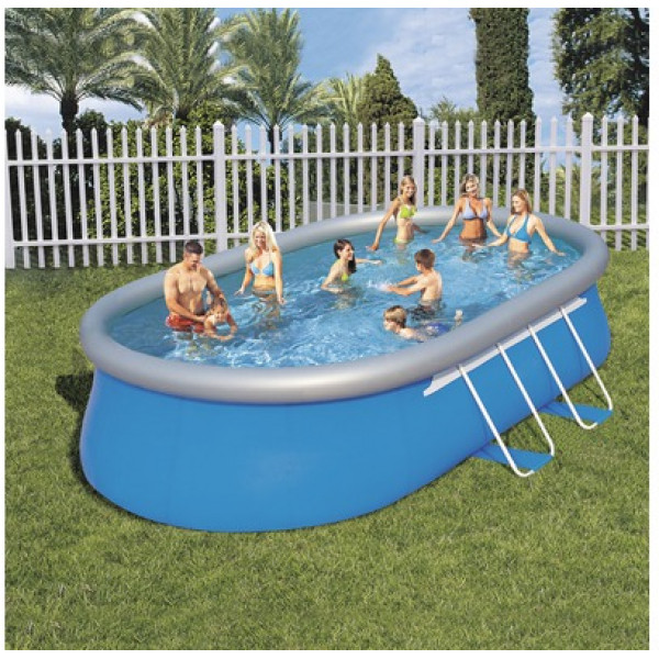 Bestway Frame Pool Solo 549 X 366 Cm Höjd 122 Cm från Bestway