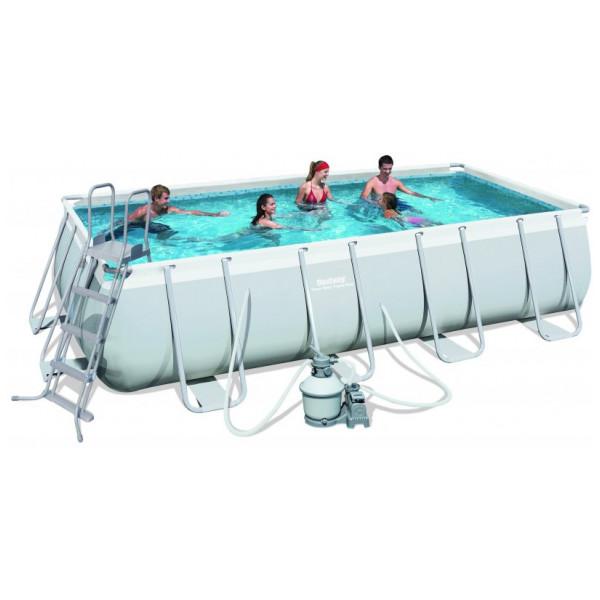 Bestway Power Steel Frame Pool Set 488 X 274 122 Cm från Bestway