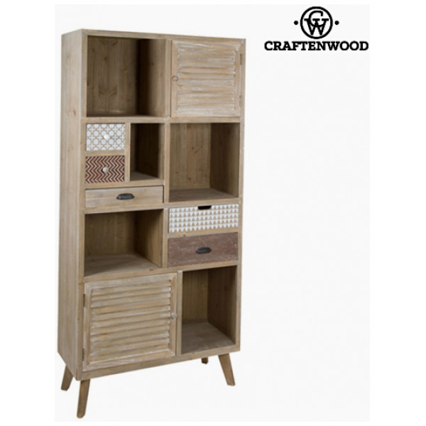 Bokhylla Granträ Mdf 90 X 34 50 187 Cm - Be Yourself Samling By Craftenwood från Inget märke