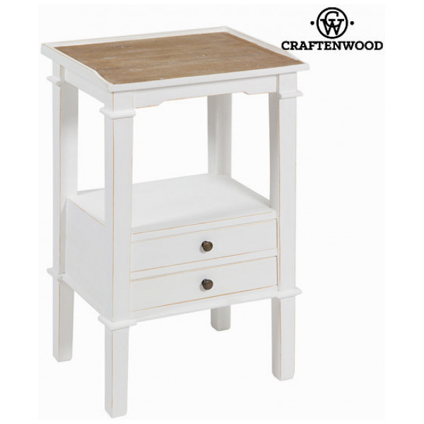 Bokhylla Telefonbord Med 2 Utdragslådor By Craftenwood från Inget märke