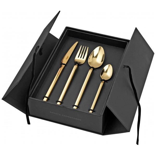 Broste Copenhagen Bestickset Tvis Titanium Rose Gold M 16 Delar från Broste copenhagen