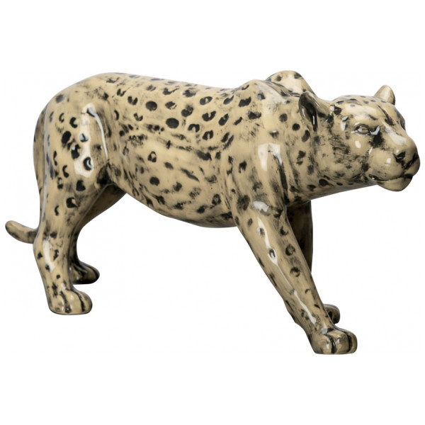 By On Figurin Leopard Skulptur 32X14 Cm från By on