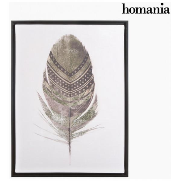 Canvastavla Fjäder By Homania från Inget märke
