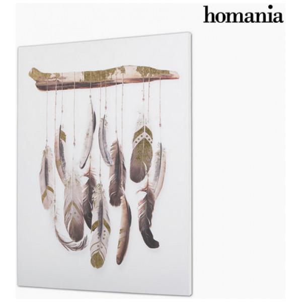 Canvastavla Fjädrar By Homania från Inget märke
