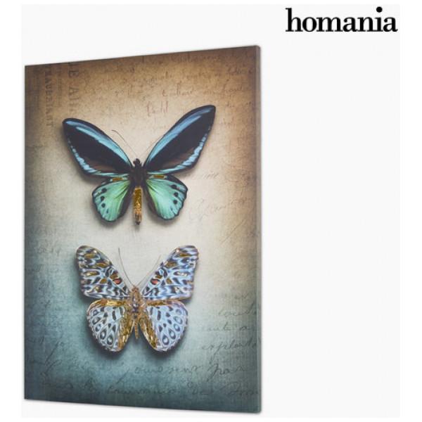 Canvastavla Fjärilar By Homania från Inget märke