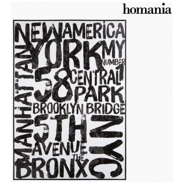 Canvastavla Nyc By Homania från Inget märke