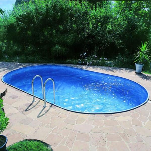 Clear Pool Oval Pool Proffs Clear Tahiti Nedgrävd Val 300 Cm 490 150 Cm från Clear pool