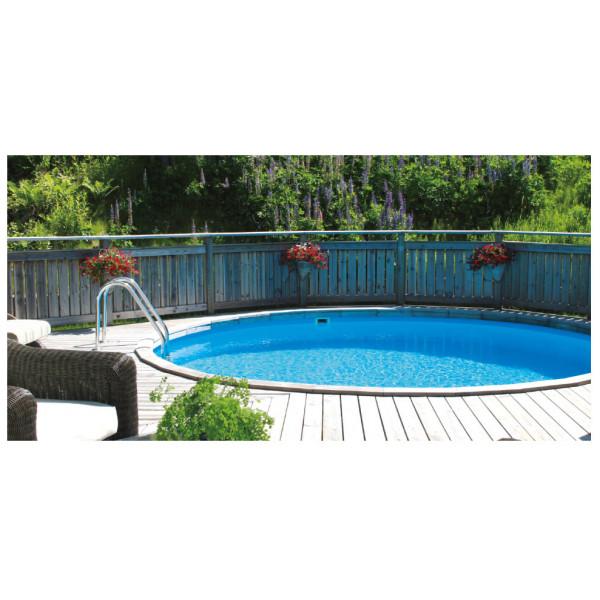 Clear Pool Rund Pool Proffs Clear Ibiza Nedgrävd Val 350 Cm 120 Cm från Clear pool