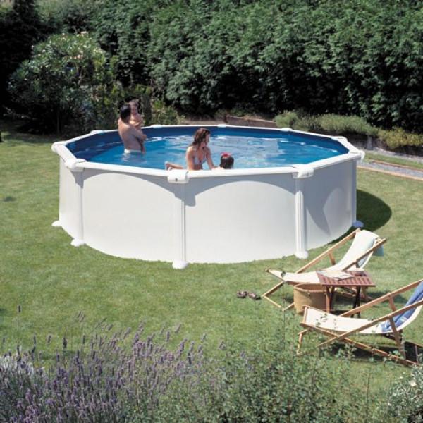 Clear Pool Stålväggspool Rund Val Ø 460 Cm från Clear pool