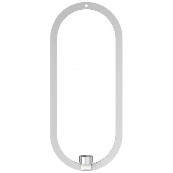 Cooee Inredning Oval Kransljushållare Rostfri 49X21 Cm från Cooee