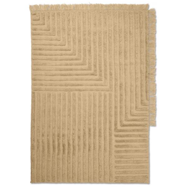 Crease Ullmatta Sand 140 X 200 Cm Ferm Living från Inget märke