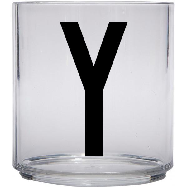 Design Letters Tritan Plastglas Barn Y från Design letters
