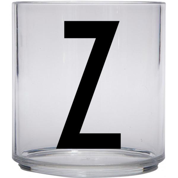 Design Letters Tritan Plastglas Barn Z från Design letters