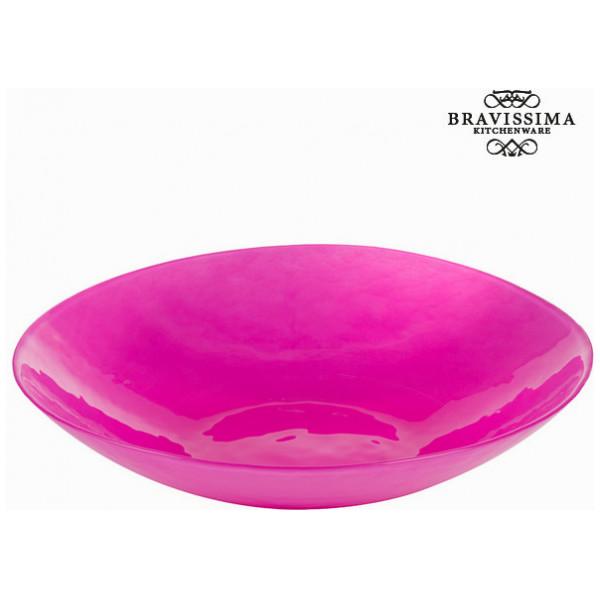Djup Tallrik Glas - Crystal Colours Kitchen Samling By Bravissima från Inget märke