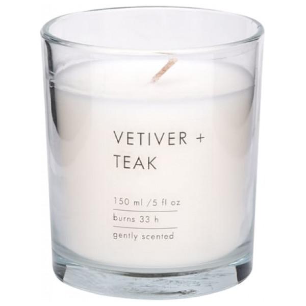 Doftljus Clear Vetiver + Teak från Inget märke