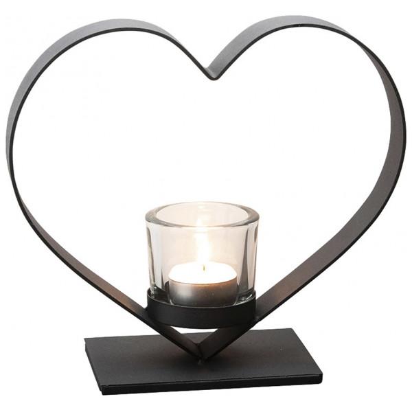 Dorre Heda Ljusstake Hjärta 21 Cm från Dorre