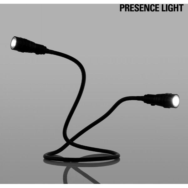 Dubbel Flexibel Magnetficklampa Led Presence Light från Inget märke