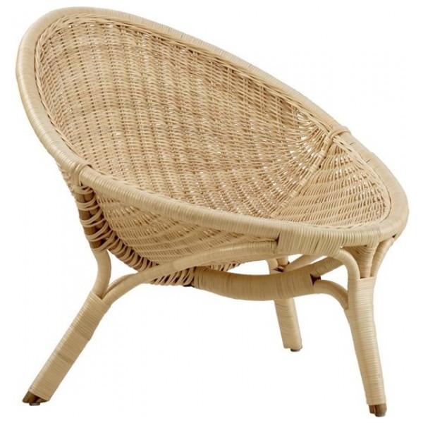 Fåtölj Rana Chair Rottingfåtölj Sika - Design från Inget märke