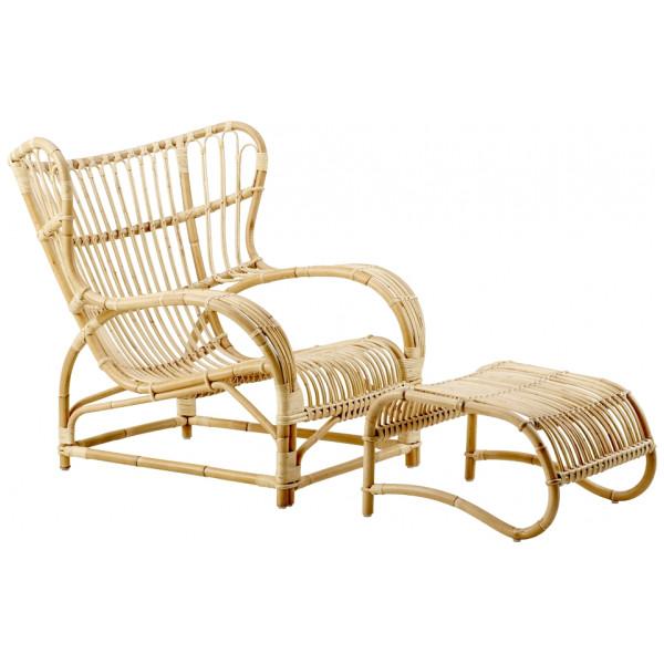 Fåtölj Teddy Chair Fåtölj Rotting Natur Sika - Design från Inget märke