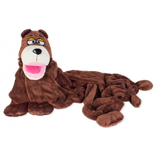 Filt För Barn Cuddleuppets Husdjur Apa från Inget märke