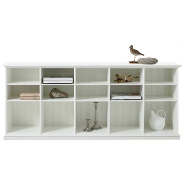 Förvaringsprodukt Låg Hylla Fem Sektioner 021320 Oliver Furniture från Inget märke