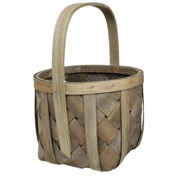 Förvaringsprodukt Spånkorg Basket Vintagebets från Inget märke