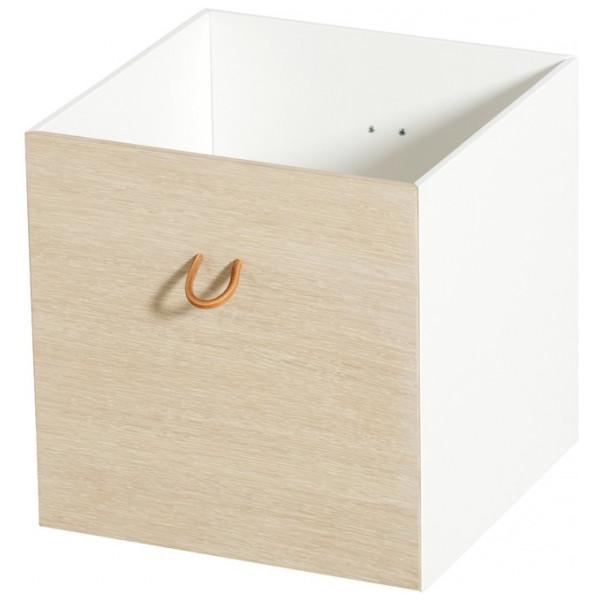 Förvaringsprodukt Wood 3 St Förvaringslådor Ek Vit Oliver Furniture från Inget märke