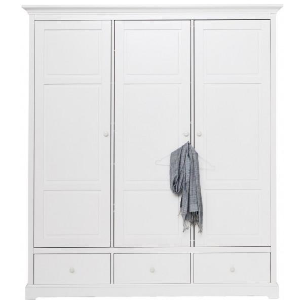 Garderob Med Tre Dörrar H195 Oliver Furniture från Inget märke