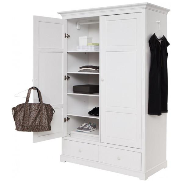 Garderob Med Två Dörrar H195 Cm Oliver Furniture från Inget märke