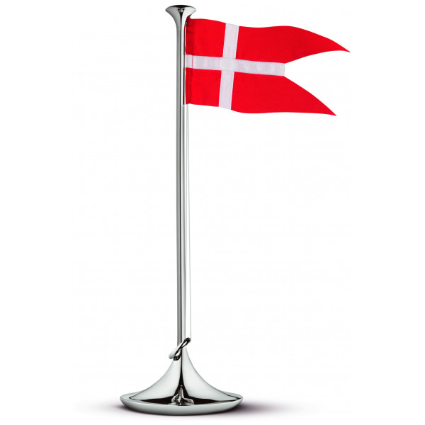 Georg Jensen Flaggstång Dansk Flagga från Georg jensen