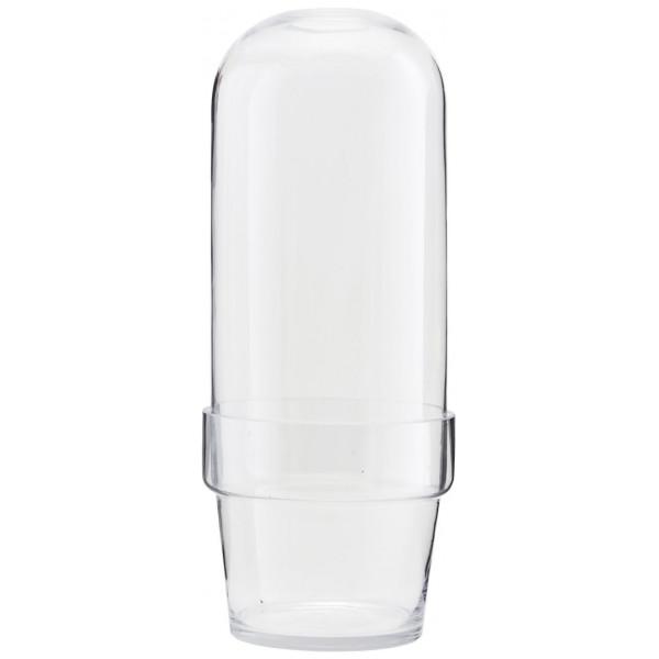 Glasklocka Med Kruka Klar House Doctor från Inget märke