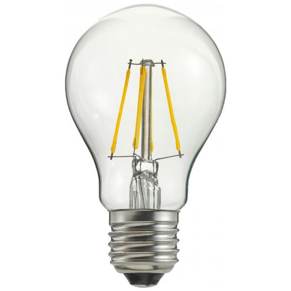 Globen Lighting Ljuskälla E27 Led 3-Steg Dimmer Globe 100 Mm 0,4-7W Klar från Globen lighting