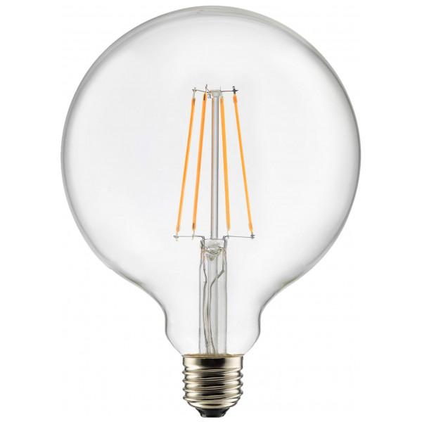 Globen Lighting Ljuskälla E27 Led 3-Steg Dimmer Globe 125 Mm 0,4-7W Klar från Globen lighting