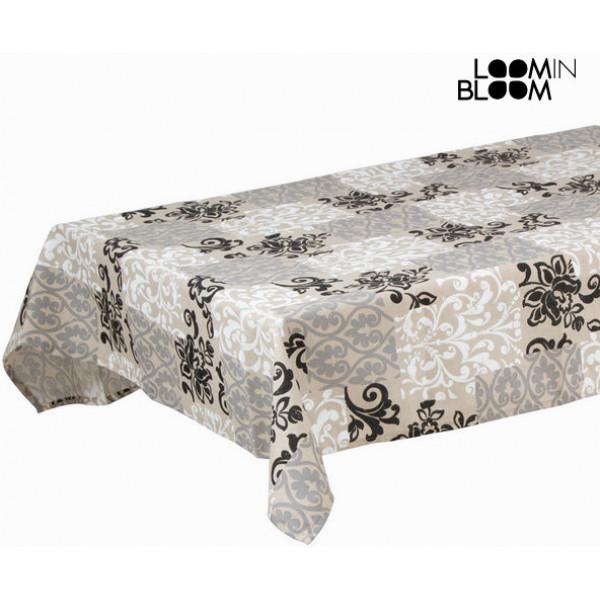 Grå Duk Damasco By Loom In Bloom från Inget märke