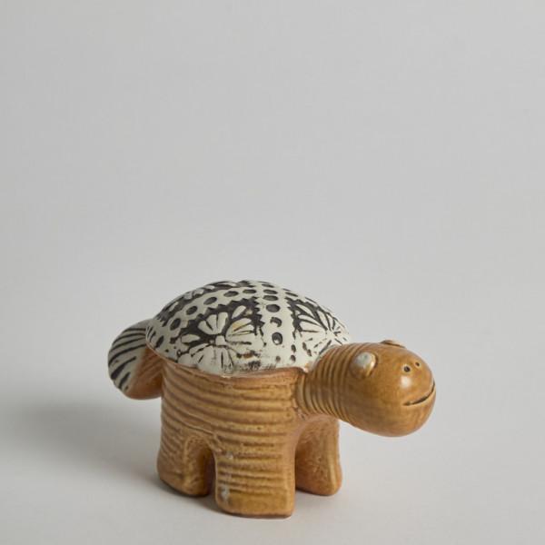 Gustavsberg Figurin Sköldpadda Jura Av Lisa Larson från Gustavsberg