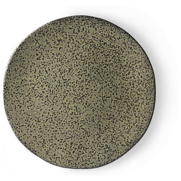 Hkliving Gradient Ceramics Assiett Green 2 St från Hkliving