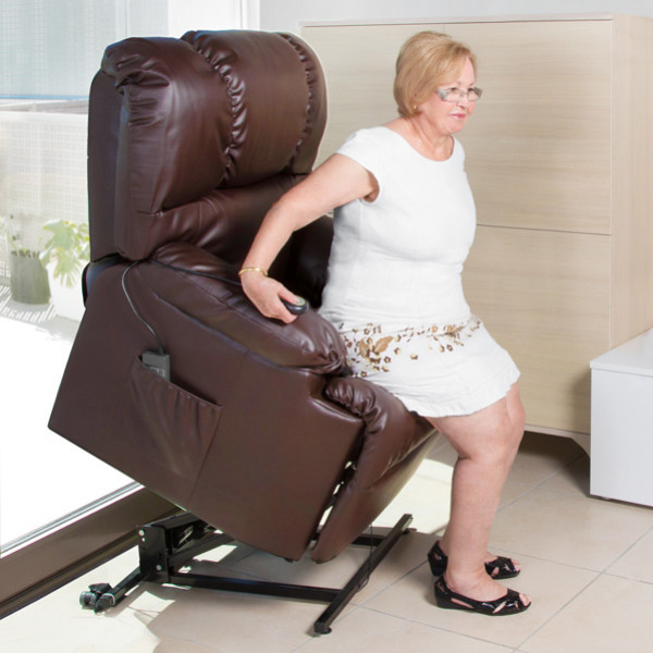 Höjbar Massagefåtölj Cecorelax 6014 från Inget märke