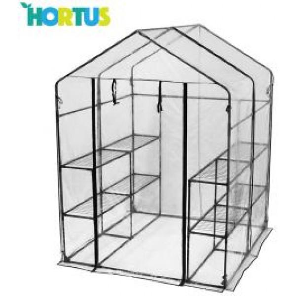 Hortus Växthus Med 8 Hyllor från Hortus