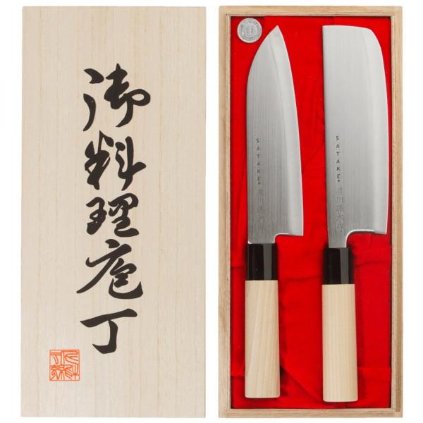 Houcho Knivset Allroundkniv + Grönsakshack Satake från Inget märke