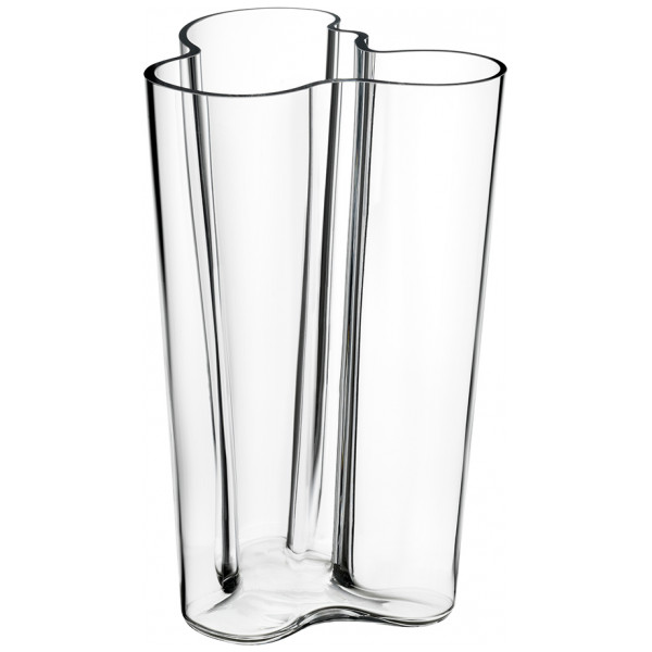 Iittala Alvar Aalto Collection Finlandia Vas 25,1 Cm Klar från Iittala