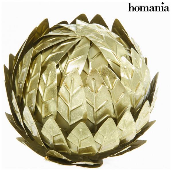 Inredning Champagnefärgad Metallkula - New York Samling By Homania från Inget märke