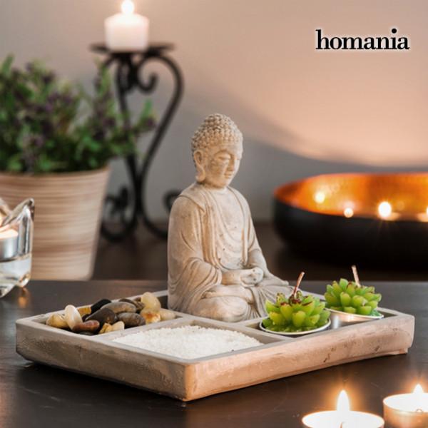 Inredning Dekorativ Zen Trädgård Med Buddha Homania från Inget märke