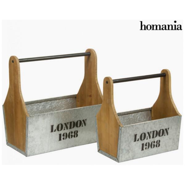 Inredning Korgar Med Handtag Set Om 2 By Homania från Inget märke