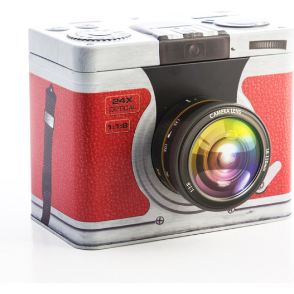Inredning Metallåda Kamera Retro Färg från Inget märke