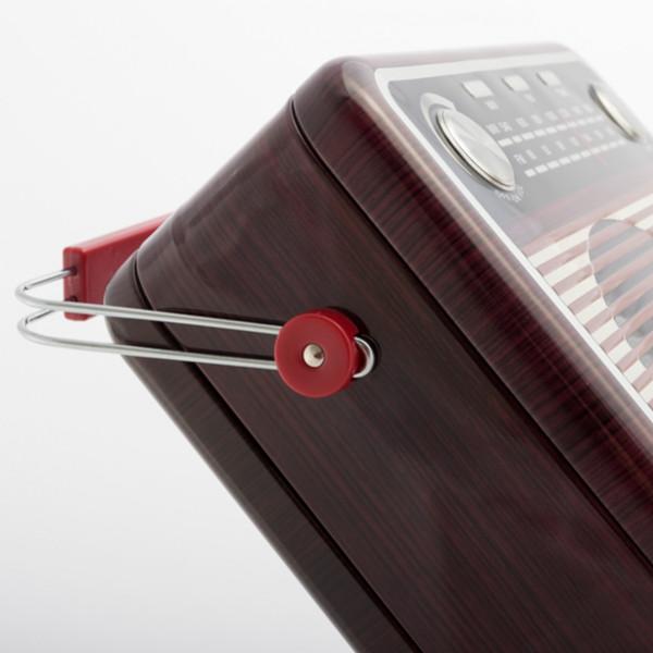 Inredning Metallåda Radio Vintage Box från Inget märke